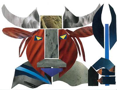 Minotaur Mixed Media - Minotaur by Earl ContehMorgan