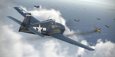 Wwii Digital Art - Minsi 3 by Robert Perry