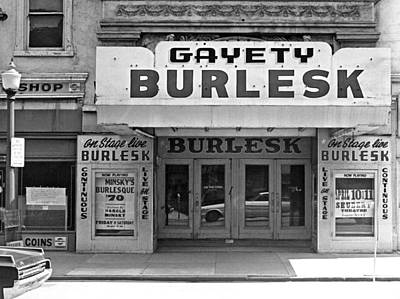 Kentucky Photograph - Minsky Burlesque Theater by Underwood Archives