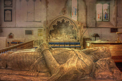 Sheppey Photograph - Minster Abbey Interior by Dave Godden