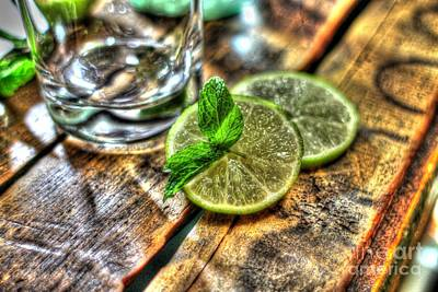 Photograph - Mint And Lime by Jimmy Ostgard
