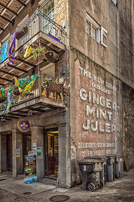 Photograph - Mint Julep New Orleans by Erwin Spinner