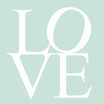 Mint Love Art Print