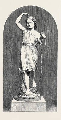 Minton And Co., Thorneycrofts Skipping-girl Statuette Art Print