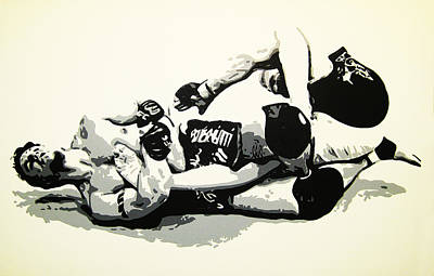 Painting - Mir V Lesnar by Geo Thomson