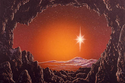 Celestial Spaces Painting - Mira by Don Dixon