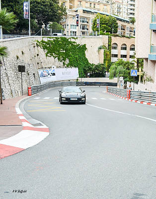 Photograph - Mirabeau Bas Corner At Monaco by Allen Sheffield