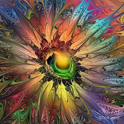 Miracle Digital Art - Miracle Flower by Klara Acel