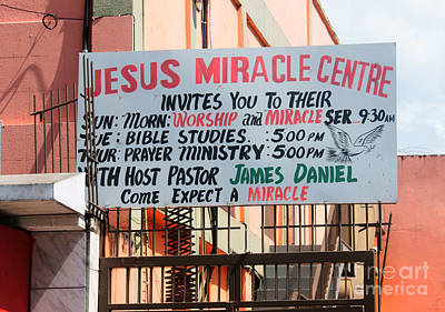 Photograph - Miracle Market by David Birchall
