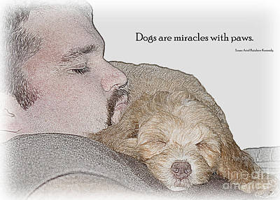 Photograph - Miracles With Paws by Sandra Clark
