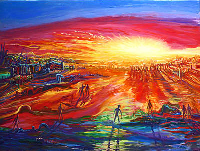 Surreal Painting - Miraculous Event 1 by Arthur Robins