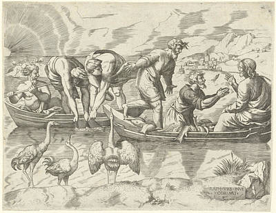 Miraculous Drawing - Miraculous Fishing, Cornelis Massijs by Quint Lox