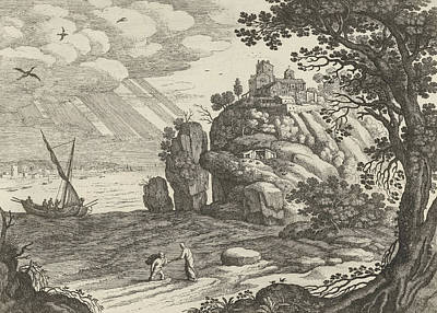 Miraculous Drawing - Miraculous Fishing, Willem Van Nieulandt II by Artokoloro