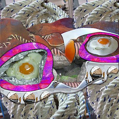 Huevos Painting - Mirada Bicelular by Ramon Rivas - Rivismo