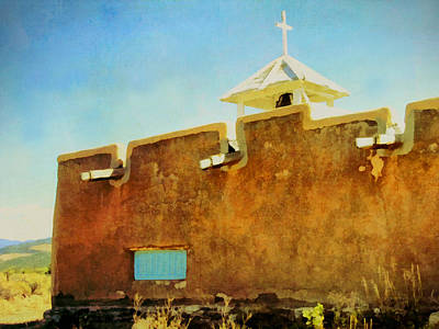 Photograph - Morada De Taos Cupola by Ann Powell