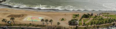 Miraflores Beach Panorama Art Print