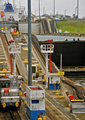 Photograph - Miraflores Locks On Panama Canal by Kirsten Giving