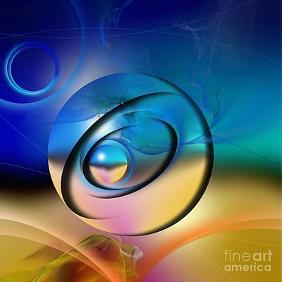 Abstract Digital Art Mixed Media - Mirage by Franziskus Pfleghart