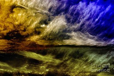 Abstract Expressionist Digital Art - Mirage by Gerlinde Keating - Galleria GK Keating Associates Inc