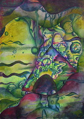 Abstract Creations Drawing - Mirage by Marat Ivanov