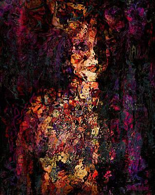 Ivory Art Mixed Media - Mirage by Natalie Holland