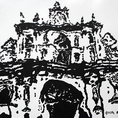 Mirage Print by Oscar Penalber