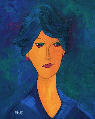 Painting - Miranda  by Oscar Penalber