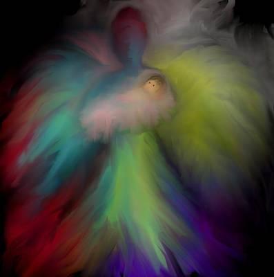 Miranda's Angel Art Print