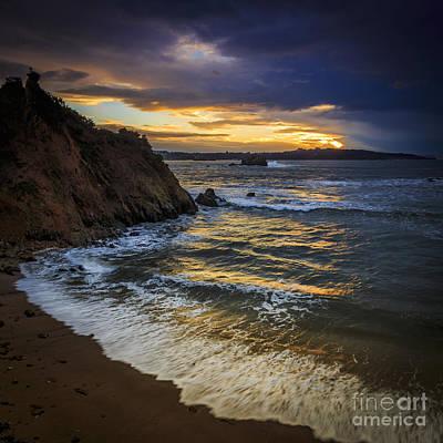 Photograph - Mirandas Beach Galicia Spain by Pablo Avanzini
