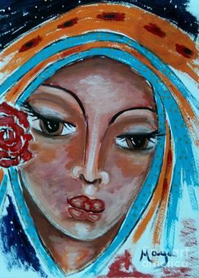 Painting - Miriam by Maya Telford