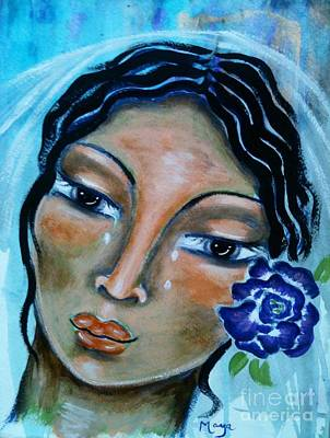 Miriamne Art Print by Maya Telford