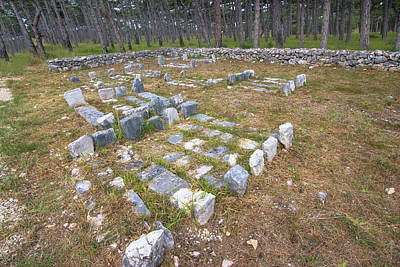 Photograph - Mirila - Historic Stone Graves In Dalmatia by Brch Photography