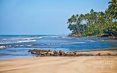 Photograph - Mirissa Beach Sri Lanka by Liz Leyden