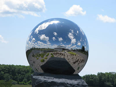 Photograph - Mirror Ball by David Barker