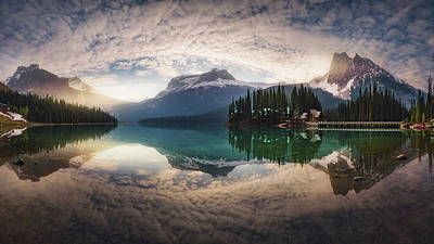 Banff Wall Art - Photograph - Mirror Emerald by Juan Pablo De