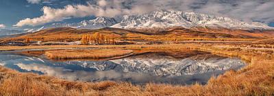 Mirror For Mountains Art Print