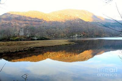 Photograph - Mirror Image On Loch Lubhair by David Grant
