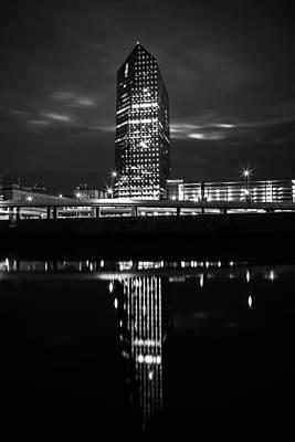 Cira Centre Photograph - Mirror Image by Van Hoang