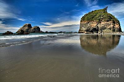 Photograph - Mirror In The Sand by Adam Jewell