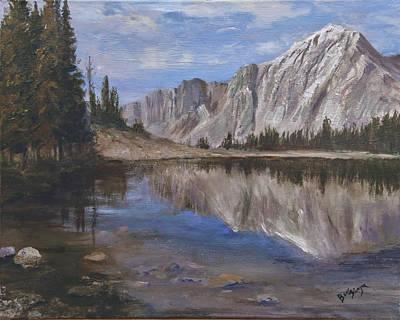 Mirror Lake Art Print by Bev Finger