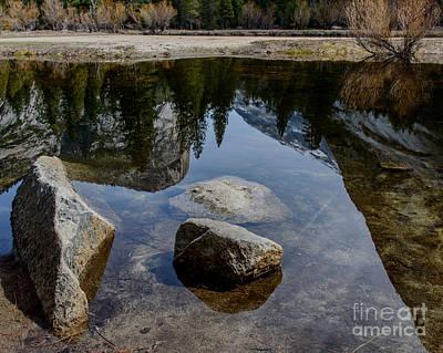 Photograph - Mirror Lake Threesome 2 Yosemite by Terry Garvin