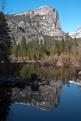 Vertical Photograph - Mirror Lake Yosemite by Shane Kelly