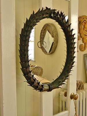 Art Print featuring the photograph Mirror Mirror by Jean Goodwin Brooks