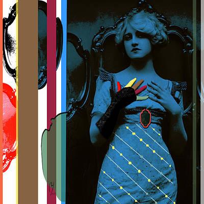 Digital Art - Mirror Mirror by Maria Jesus Hernandez
