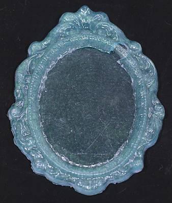 Rococo Mixed Media - Mirror Mirror by Rylee Stearnes