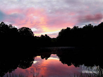 Photograph - Mirrored In The Lake by Scott B Bennett