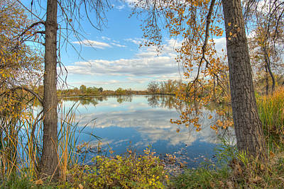 Photograph - Mirrored Sky by Jennifer Grossnickle