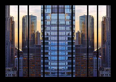 Photograph - Mirrored Symmetry by Leda Robertson
