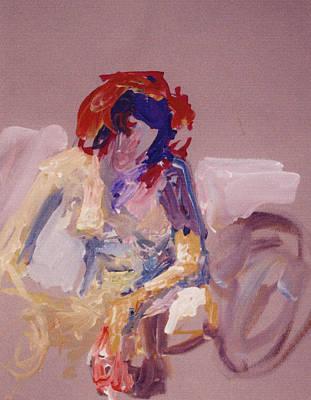 Michael Jackson Oil Painting - Mirrors by Marina Sotiriou