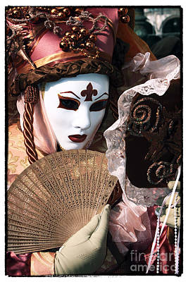 Carnevale Photograph - Mirrors Never Lie Color by John Rizzuto